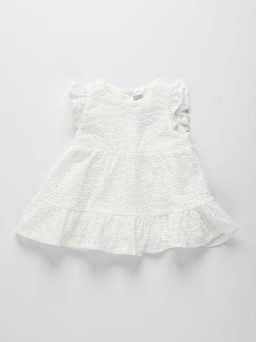 שמלת תחרה בסגנון קומות / 6M-5Y של THE CHILDREN'S PLACE
