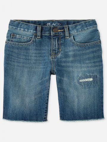 ג'ינס בשילוב קרעים / בנים של THE CHILDREN'S PLACE