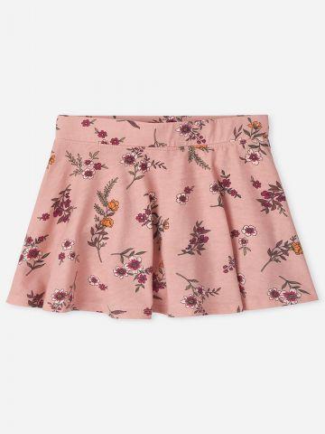 חצאית מיני בהדפס פרחים / בנות של THE CHILDREN'S PLACE