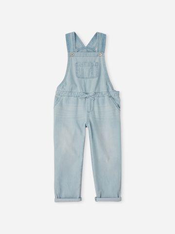 אוברול ג'ינס ארוך עם כיסים / בנות של THE CHILDREN'S PLACE