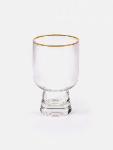 כוס זכוכית מעוצבת של FOX HOME