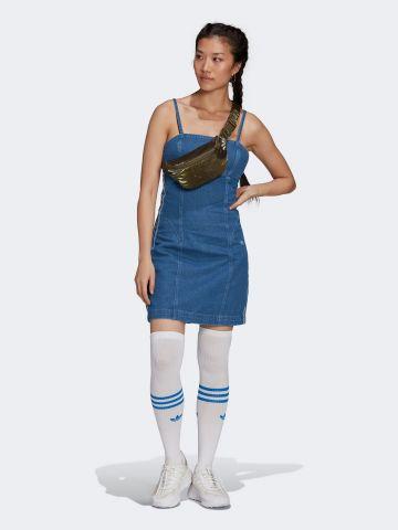 שמלת ג'ינס עם לוגו של ADIDAS Originals