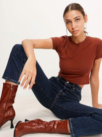 ג'ינס קרופ בגזרת 501 של LEVIS