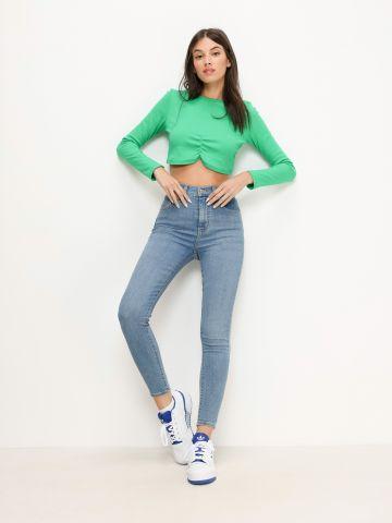 ג'ינס בגזרת Super Skinny Mile של LEVIS