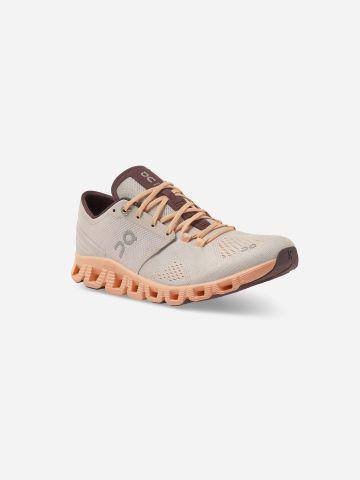 נעלי ריצה עם שרוכי גומי Cloud X / נשים של ON CLOUD