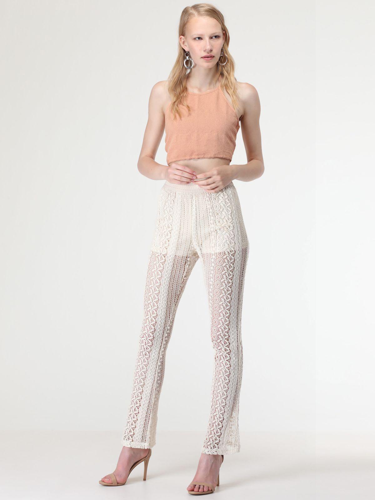 מכנסי קרושה ארוכיםמכנסי קרושה ארוכים של TERMINAL X