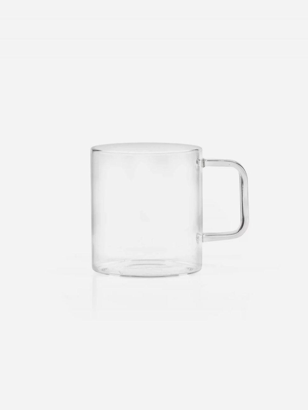 ספל זכוכית דקהספל זכוכית דקה של FOX HOME