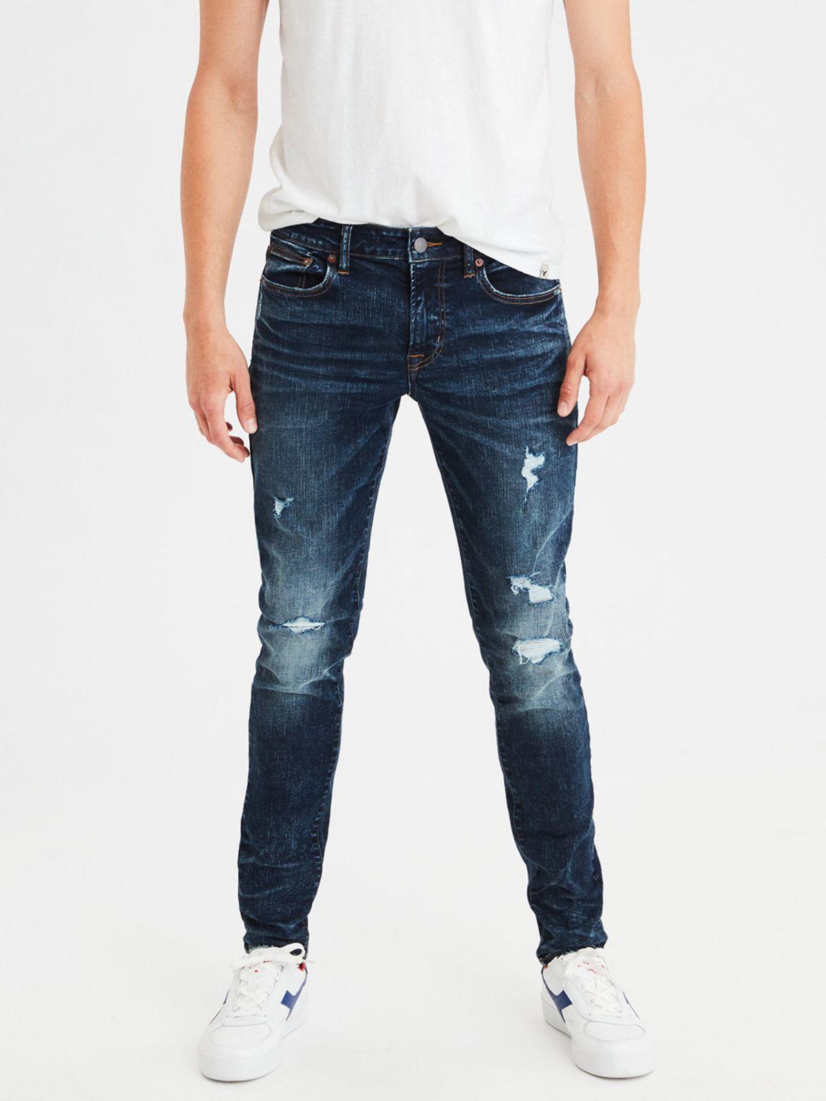 ג'ינס סקיני עם קרעים Skinny Jeanג'ינס סקיני עם קרעים Skinny Jean של AMERICAN EAGLE