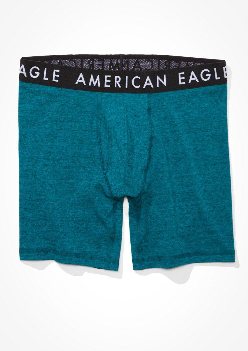 תחתוני בוקסר ג'רסי לוגו / גבריםתחתוני בוקסר ג'רסי לוגו / גברים של AMERICAN EAGLE