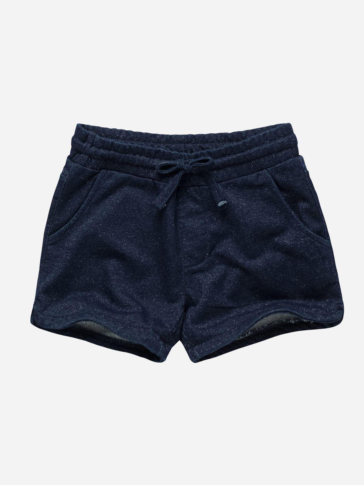 מכנסיים קצרים דמוי ג'ינס מנצנץ / בנותמכנסיים קצרים דמוי ג'ינס מנצנץ / בנות של FOX