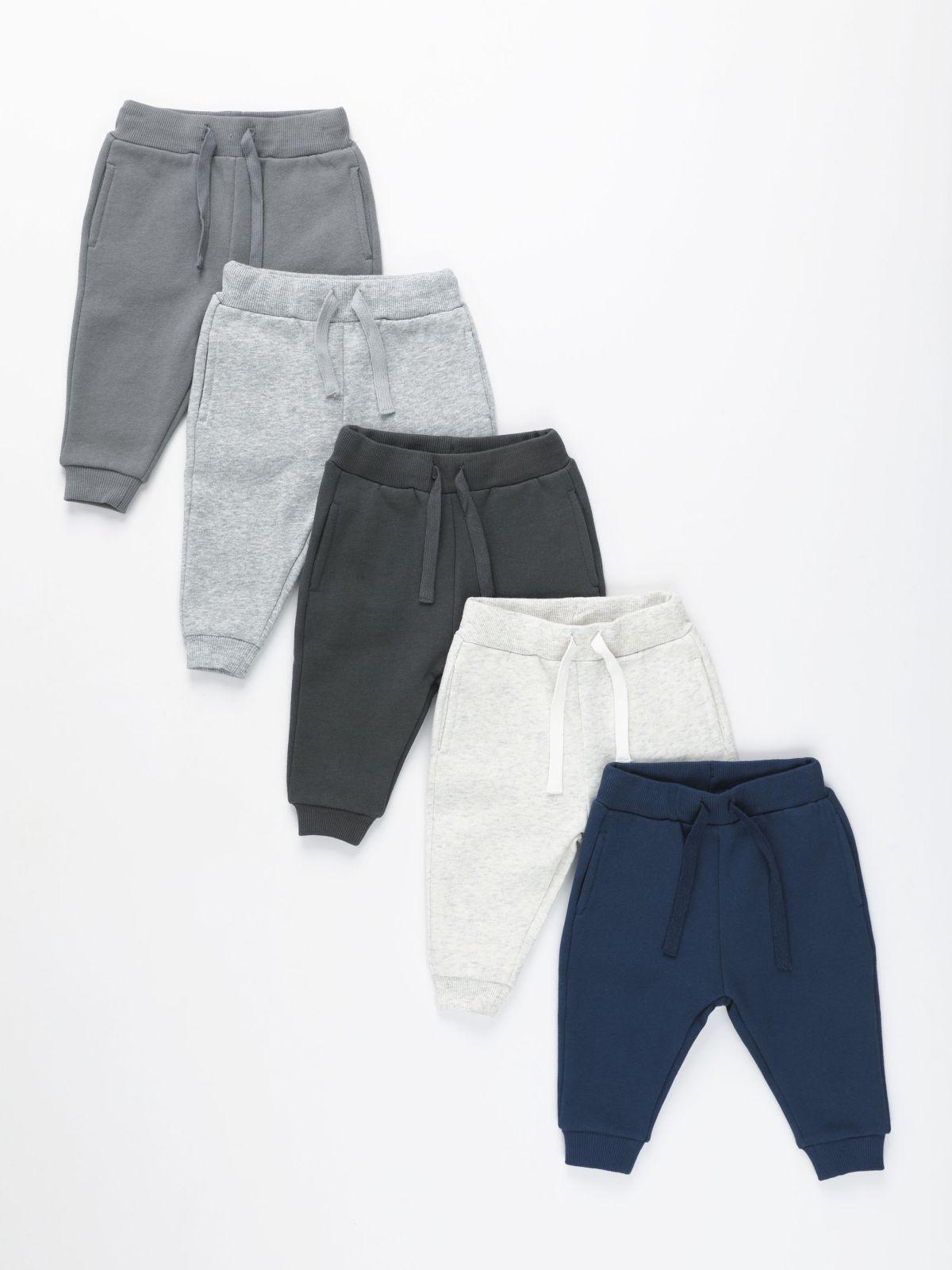 מארז 5 מכנסי פוטר ארוכים / 3M-14Yמארז 5 מכנסי פוטר ארוכים / 3M-14Y של TERMINAL X KIDS