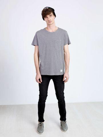 מכנסי ג'ינס סקיני עם שטיפה Tight Black Haze