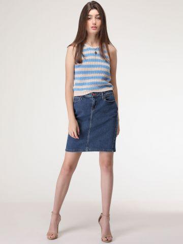 חצאית ג'ינס עיפרון Jackson