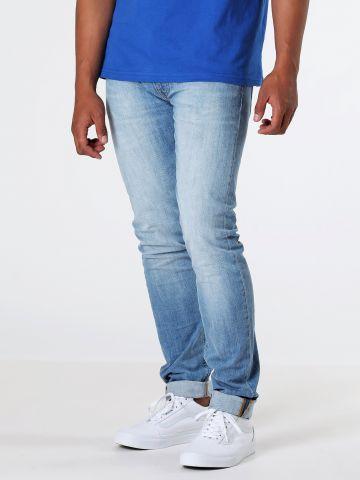 ג'ינס גזרה ישרה LUKE KICK IT