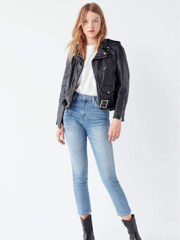 ג'ינס קרופ עם מותן גבוה BDG