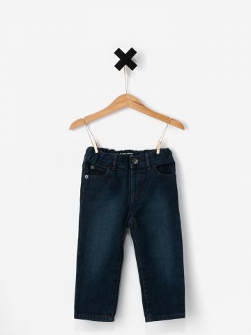 ג'ינס סקיני בשטיפה כהה / בייבי בנים