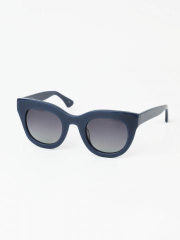 משקפי שמש בסגנון עיני חתול עם מסגרת פלסטיק
