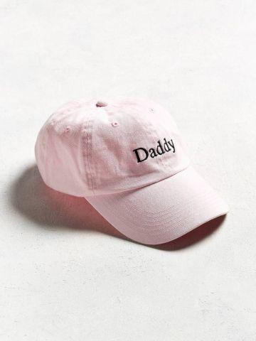 כובע מצחיה עם רקמת Daddy