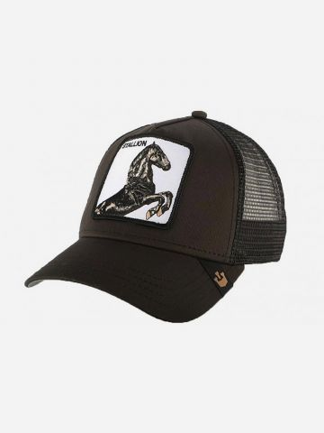 כובע מצחיה עם פאץ' סוס