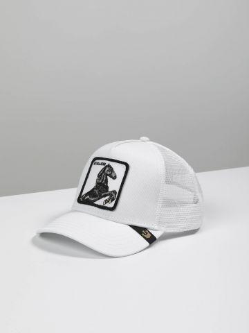 כובע מצחיה עם פאץ' סוס של GOORIN BROS