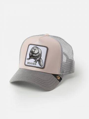 כובע מצחייה עם פאץ' בונה
