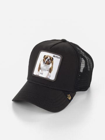 כובע מצחייה עם פאץ' בולדוג