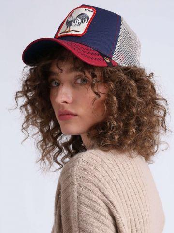 כובע מצחיה עם פאץ' תרנגול
