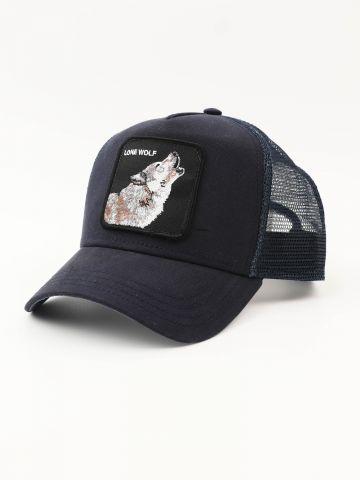 כובע מצחייה עם פאץ' זאב