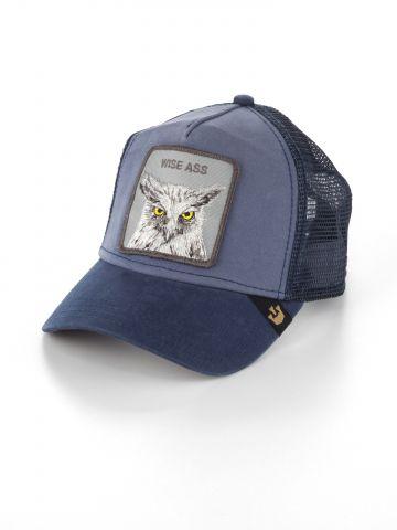 כובע מצחייה עם פאץ' ינשוף