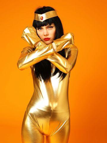 בגד גוף זהב / תחפושות לפורים