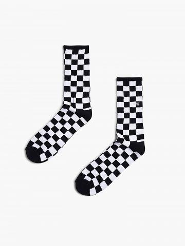 גרביים גבוהים דמקה לוגו / גברים