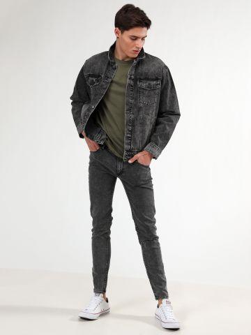 ג'ינס סקיני ווש Him Spray