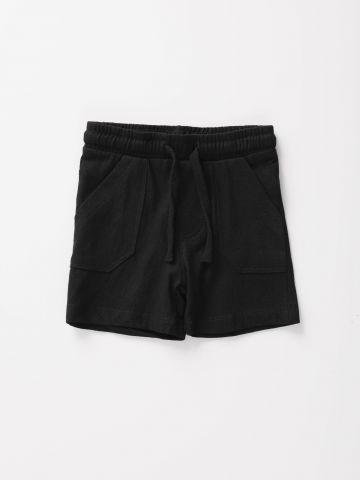 מכנסיים קצרים עם כיסים / 3M-3Y