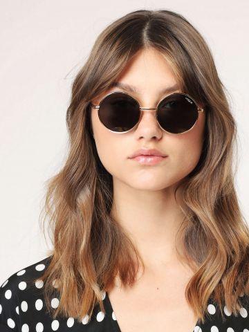 משקפי שמש עגולים בסגנון בוהו Gigi Hadid