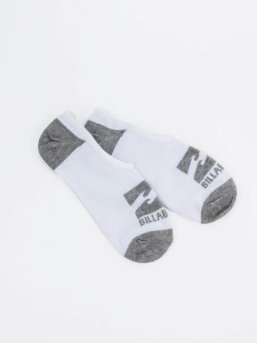 גרביים לגבר נמוכים עם לוגו