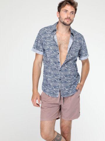מכנסי בגד ים ווש
