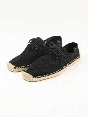 נעלי אספדריל רשת Lace Up Mesh