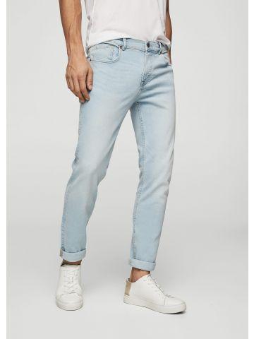 ג'ינס סלים פיט בשטיפה בהירה