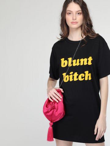 שמלת טי שירט Blunt Bitch