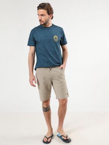 מכנסיים קצרים עם תבליט לוגו של BILLABONG