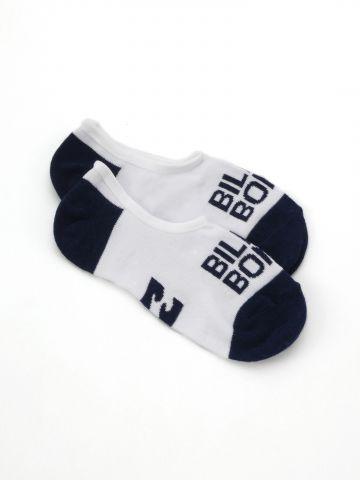 גרביים נמוכים עם לוגו / נשים