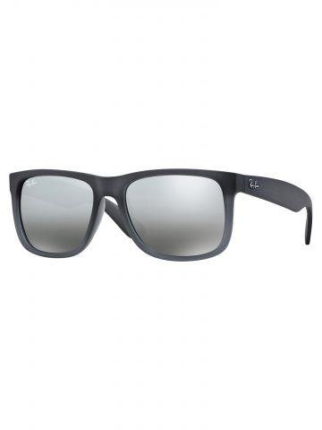 משקפי שמש מלבניים עם מסגרת פלסטיק Justin