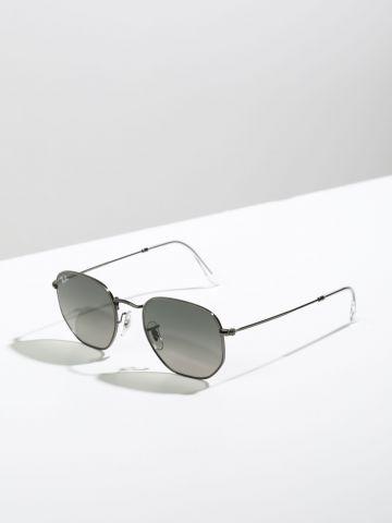 משקפי שמש משושים Hexagonal Metal
