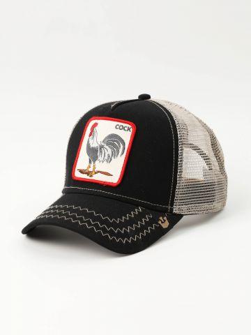כובע מצחייה עם פאץ' תרנגול של GOORIN BROS