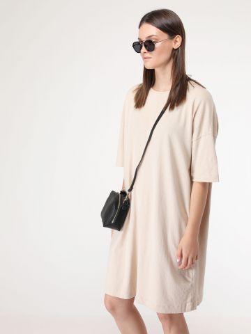 שמלת אוברסייז פשתן