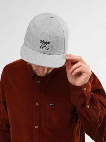 כובע מצחייה עם מיקי מאוס רקום בחזית Vans X Disney