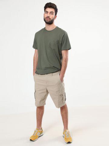 מכנסי דגמ״ח קצרים לוגו