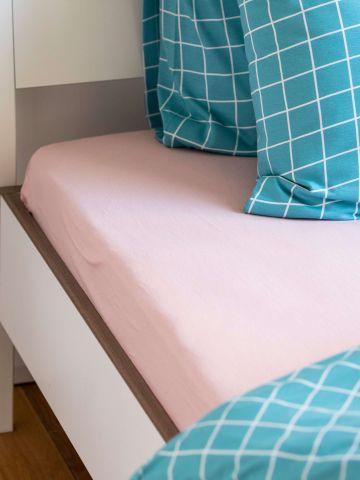 סדין ג'רסי למיטה זוגית / 160X200