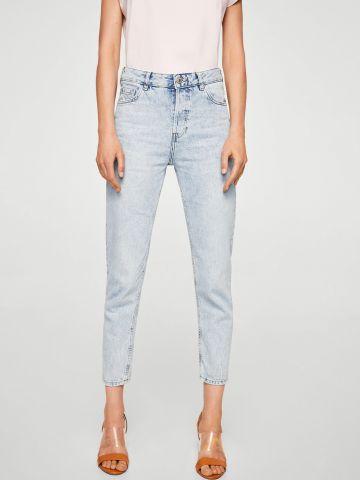ג'ינס בגזרת MOM אסיד-ווש