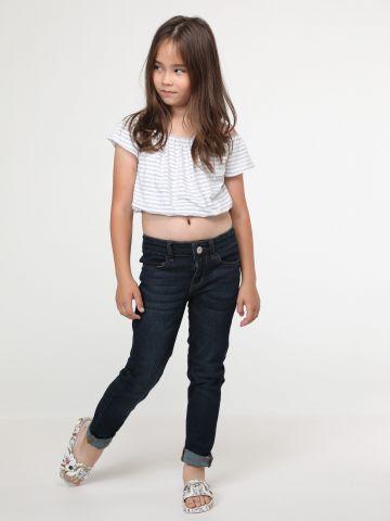 ג'ינס סקיני Dark Wash